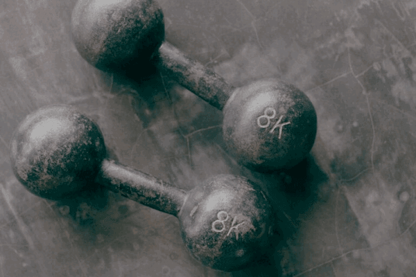 Two weights on the floor