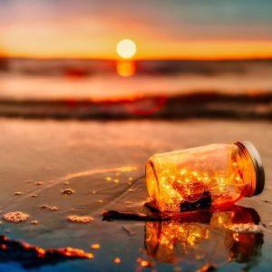 Sunset giving vitamin D